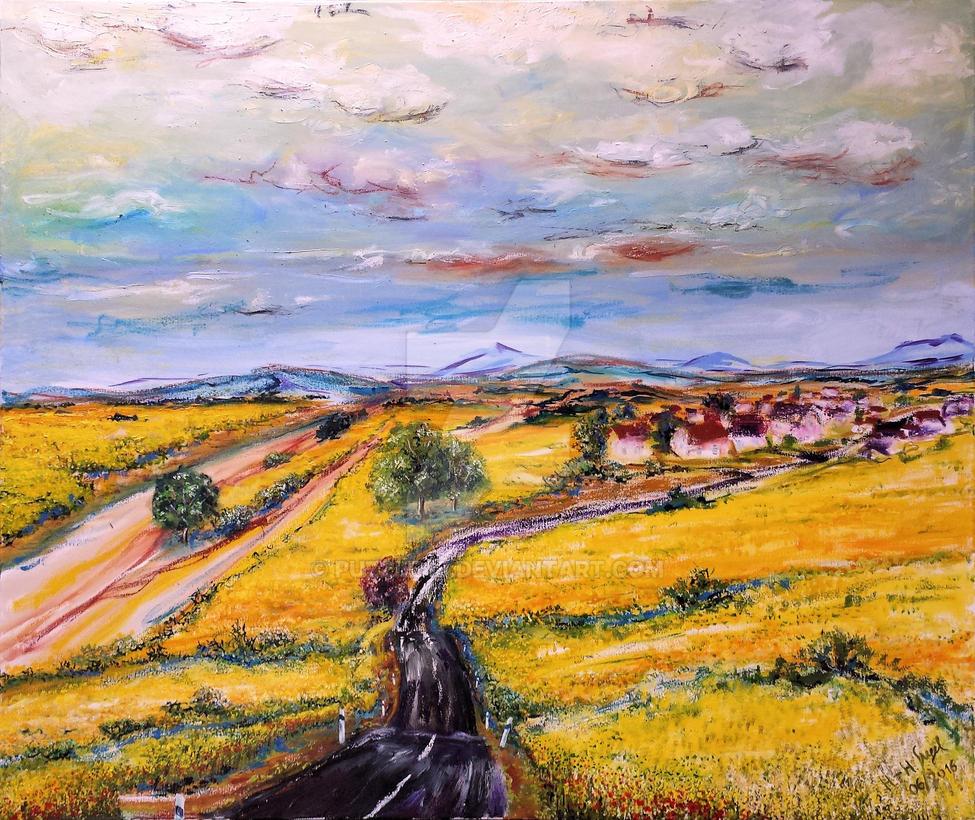 Zittauer Vorland (Zittauer foothills) by Puzzle48