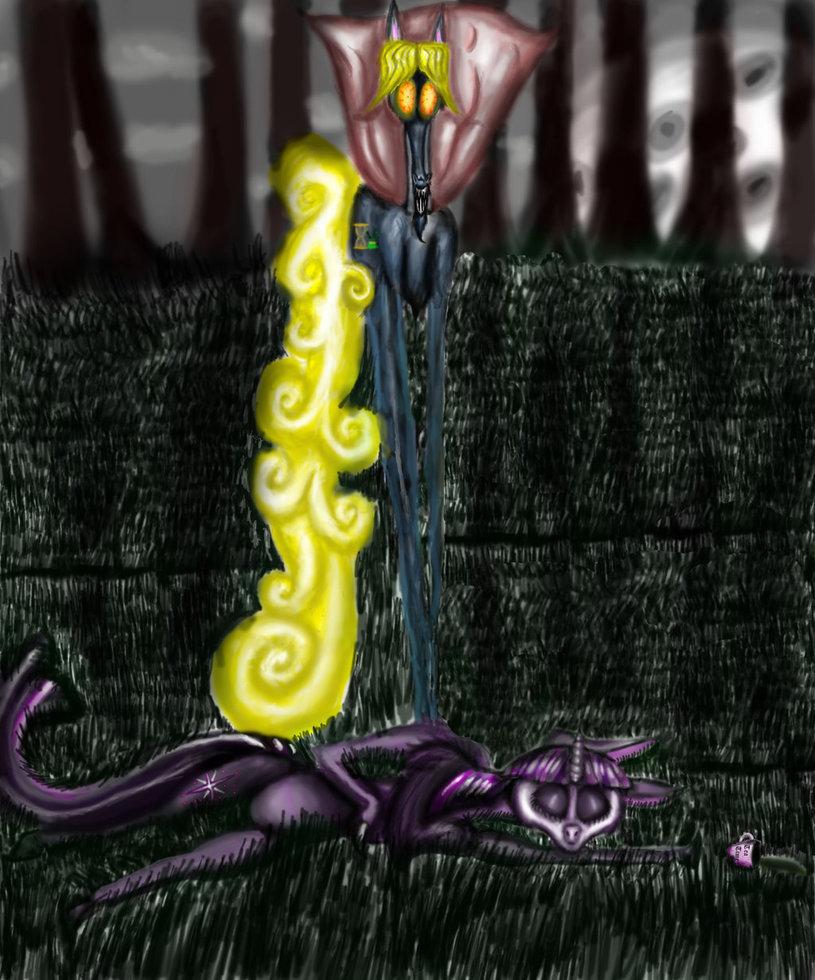 Twilight Sparkle's Eeeennnd by INGRIDPETRY