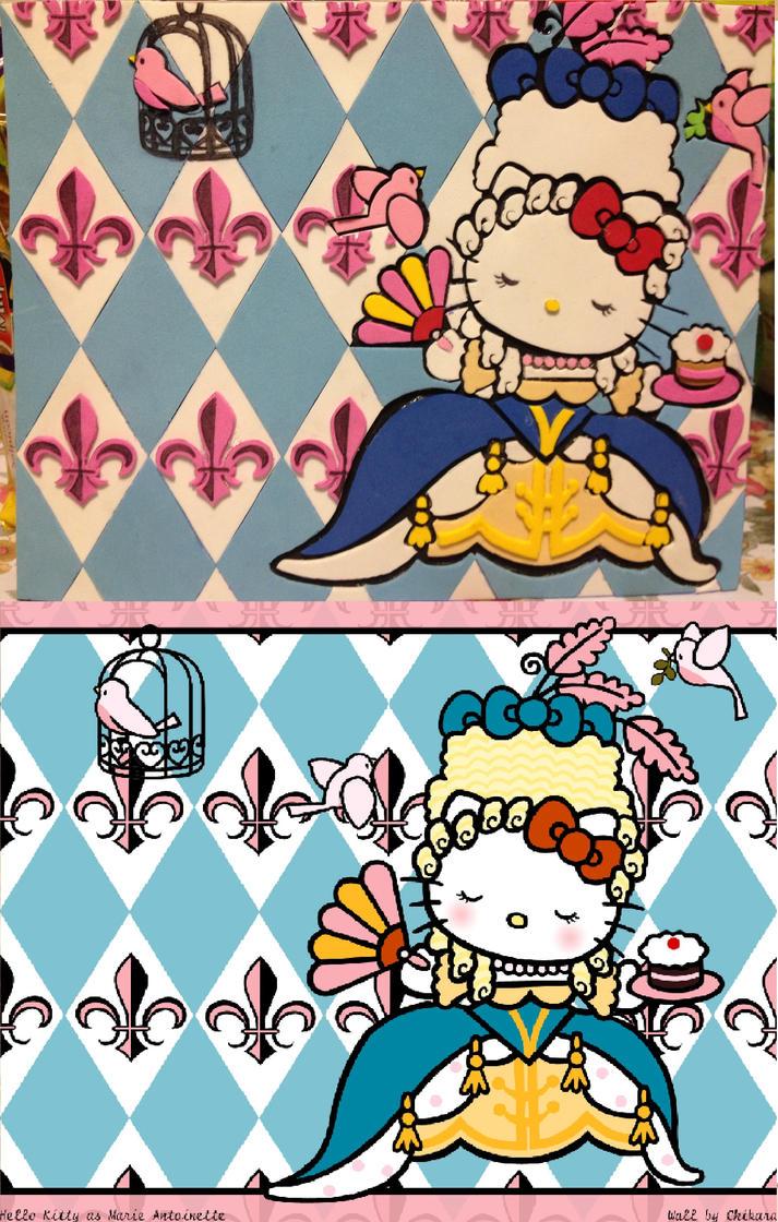 Maries Manor Hello Kitty: Hello Kitty As Marie Antoinette By Lurz195 On DeviantArt