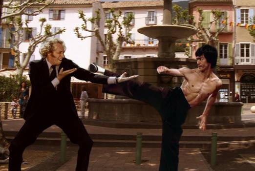 Pierre Richard VS Bruce Lee