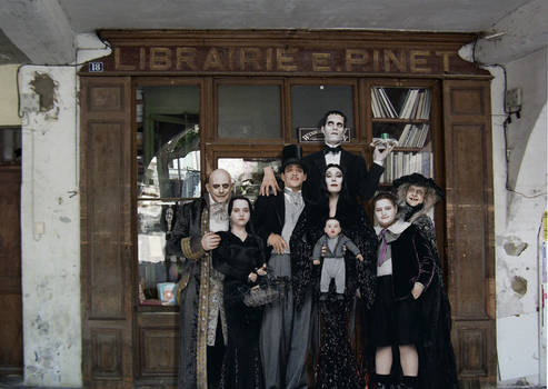Addams Family in Nyons