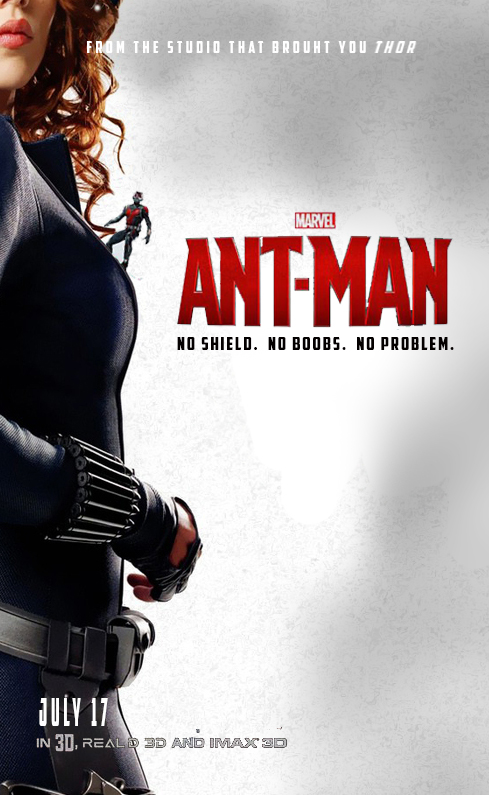 ant man movie poster black widow by biggystarbuzz on