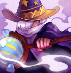 Running Wizard by AoTsuyu