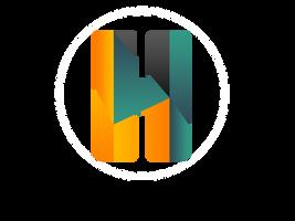 Shape/Gradient Logo by VitoriD