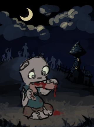 Zombies OM NOM NOM