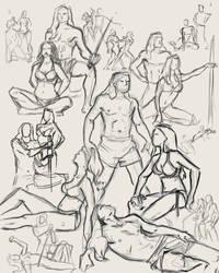 figure Drawings 4-21-10