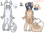 Furry Adoptables! (Closed!) by MisbentInnocence