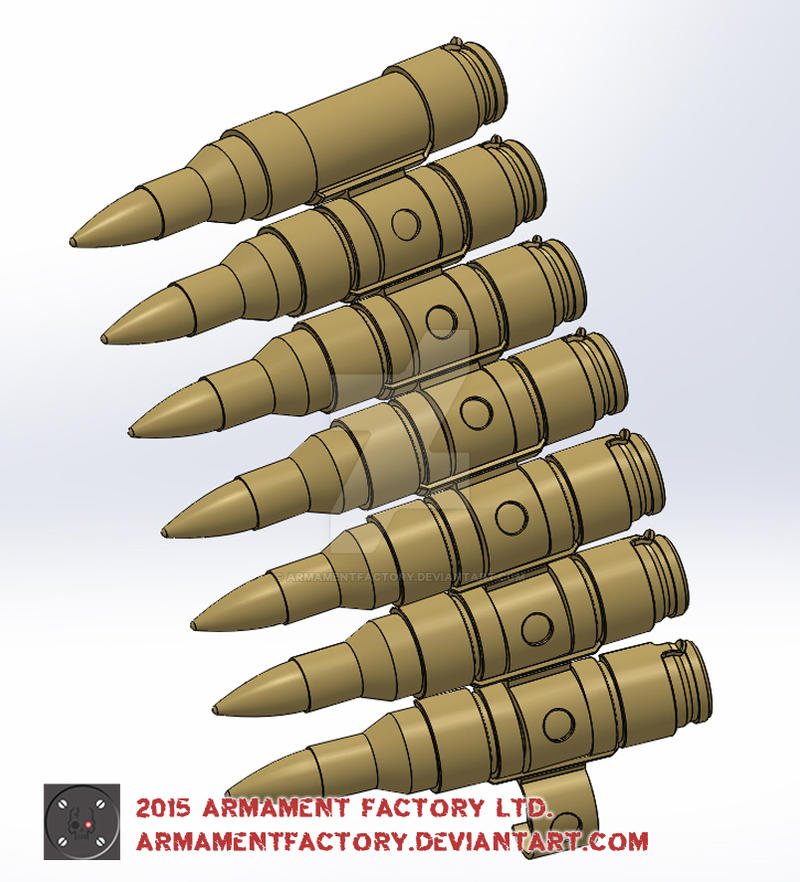 7.62x51mm LINKED DIGITAL by ARMAMENTFACTORY