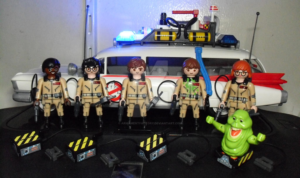GHOSTBUSTERS by ARMAMENTFACTORY