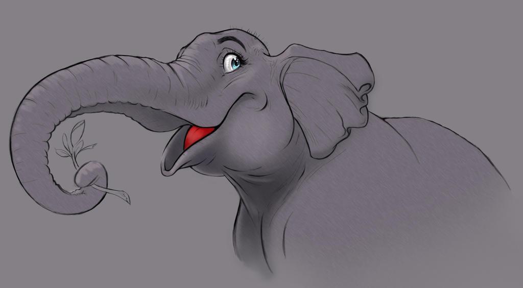 Elephant by LadyChilla