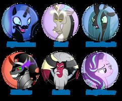 Main antagonists