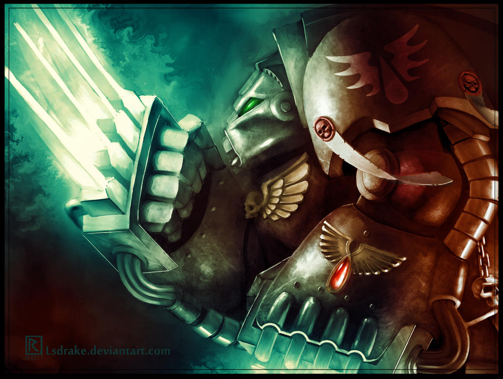 [W40K] Collection d'images : Space Marines Ba_terminator___warhammer_40k_fan_art_by_lsdrake-d4n1vgb