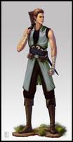 Character Elf Monk