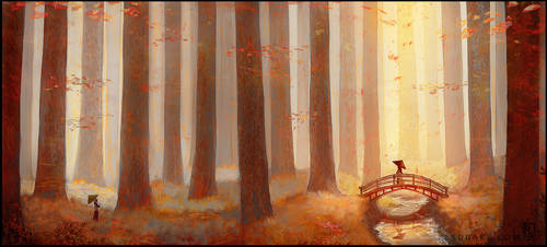 Forest of Autumn 2.0 by LSDrake
