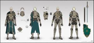 Character Sheet - DnD Paladin by LSDrake