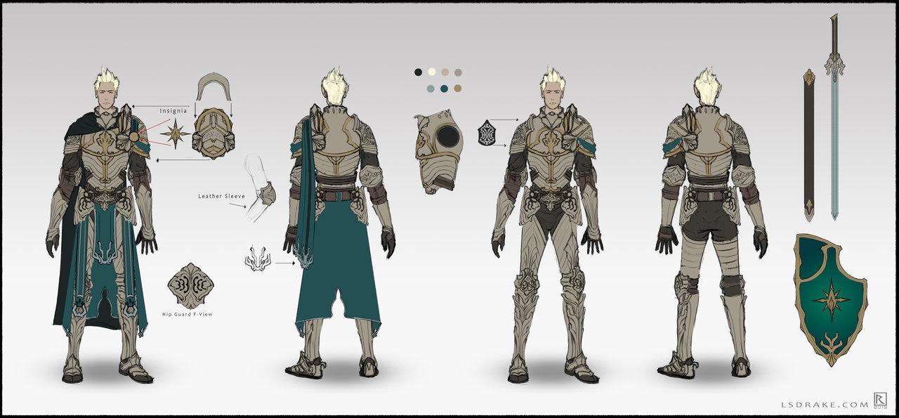 D D Character Design : Character sheet dnd paladin by lsdrake on deviantart