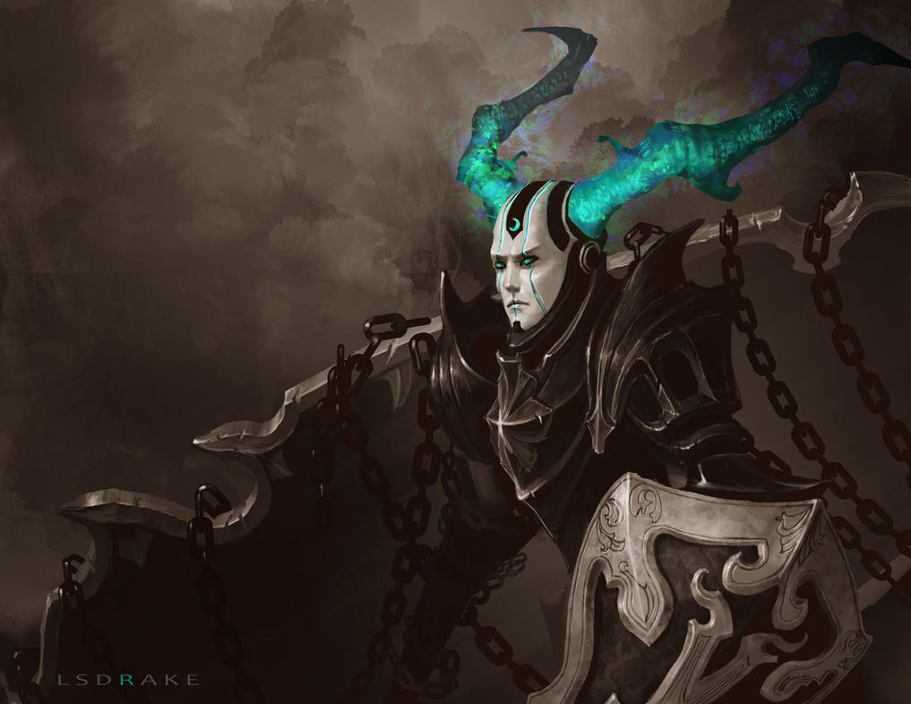 Warforged Fae Knight by LSDrake