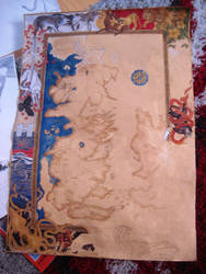 Game of Thrones Map Painting 10