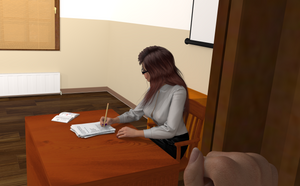 The Substitute Scene 1 First Person by AmethystPendant