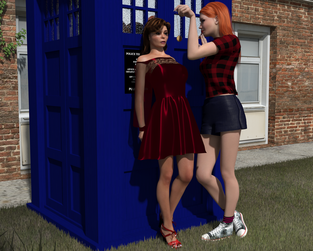 Amy wants her TARDIS back by AmethystPendant