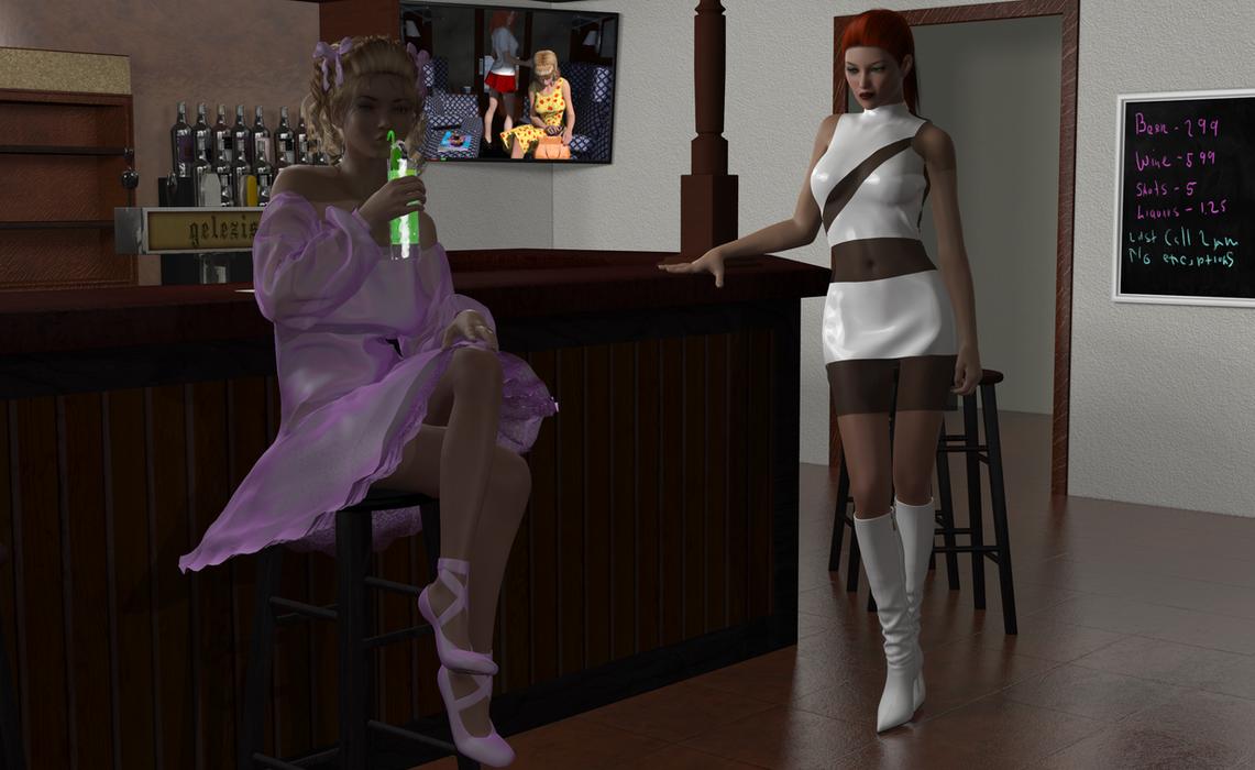 Ballet Girl by AmethystPendant