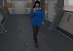 Third, and probably final version of TOS dress
