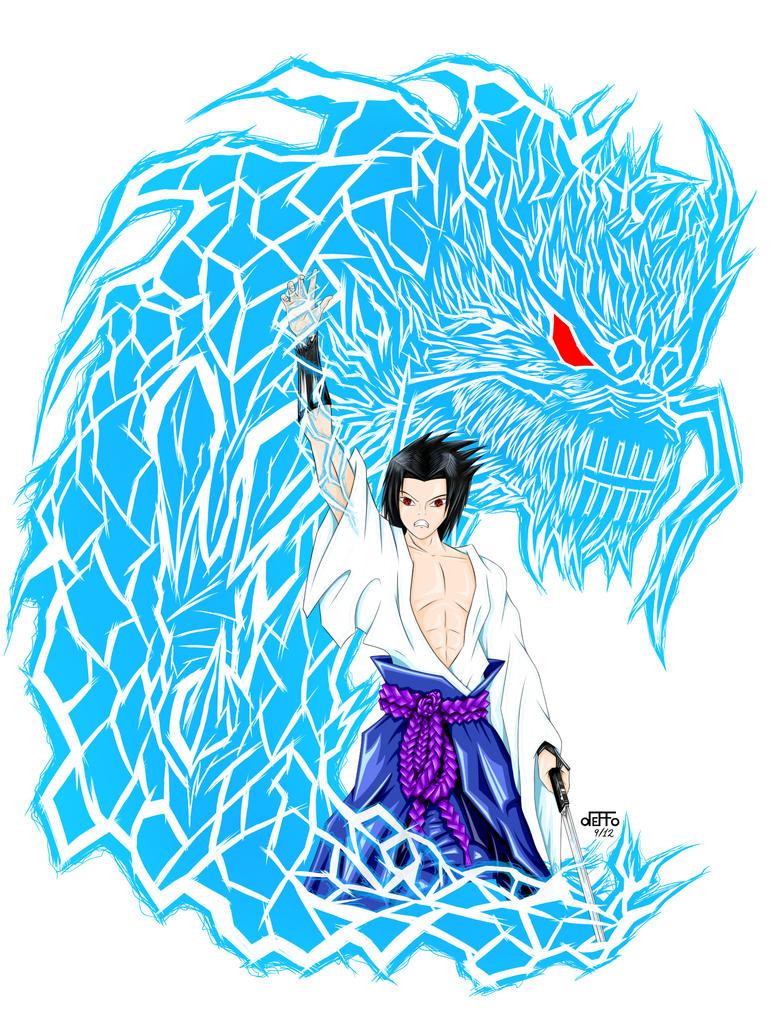 Sasuke Uchiha Kirin Sasuke kirin by