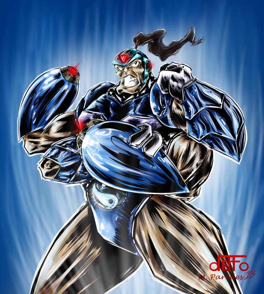 Mega-Goro by deffoneitor2000