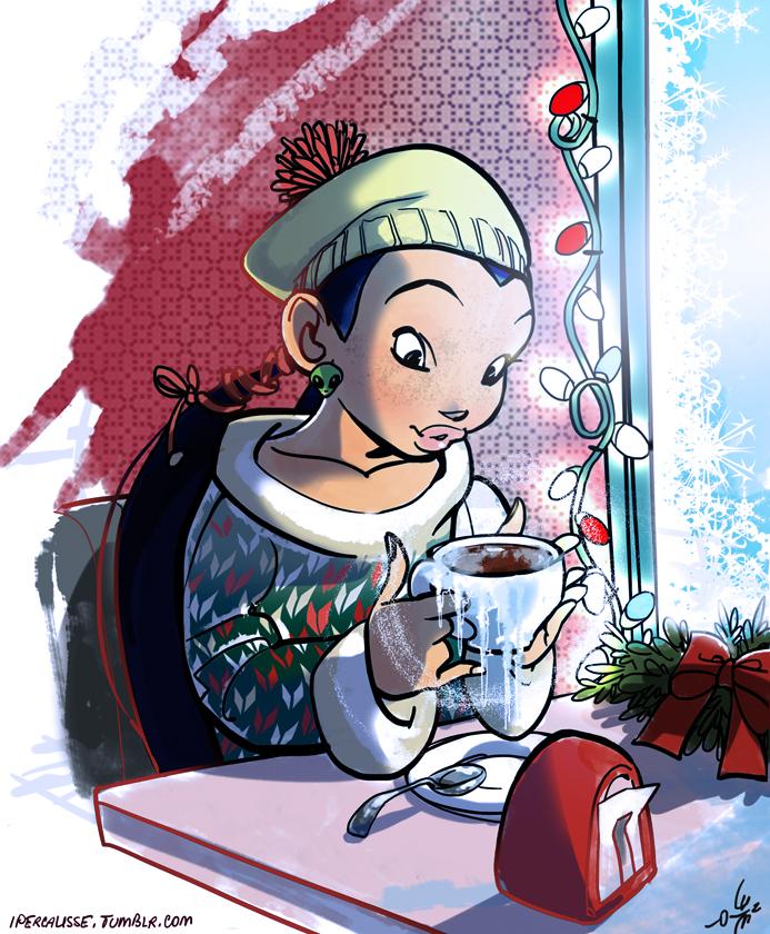 Freezing hot chocolate by ipercalisse