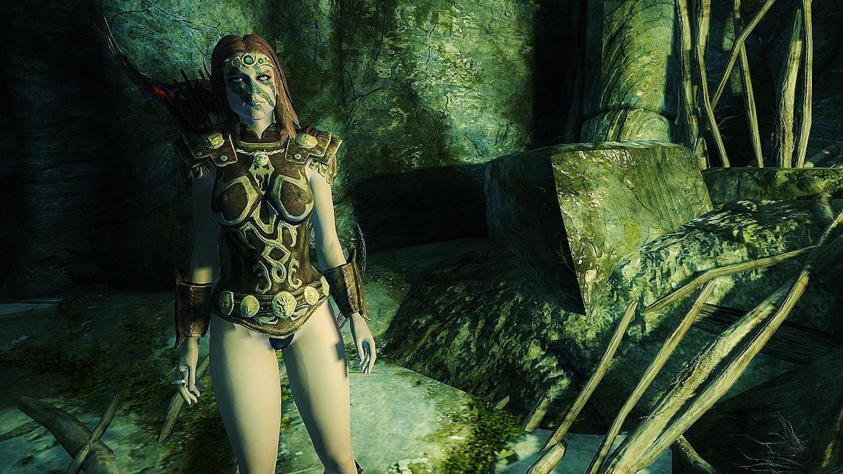 Skyrim - The Beautiful Aela The Huntress by BabineSalee on ...