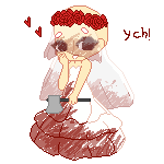 YCH Yandere Bride (CLOSED!!) by Ikaraide