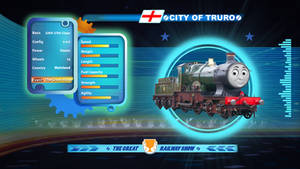 City of Truro in the Great Railway Show!