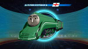 What if: the Flying Scotsman was streamlined