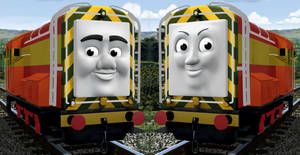 What if: Diesel and Paxton were repainted