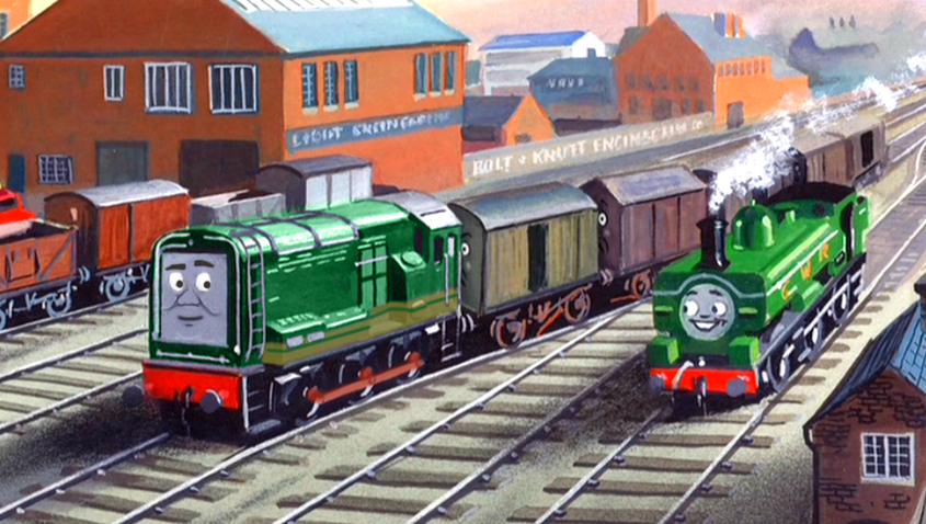 Paxton in the Railway Series by The-ARC-Minister on DeviantArt
