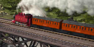 Season 21 - Red Rosie with Annie and Clarabel