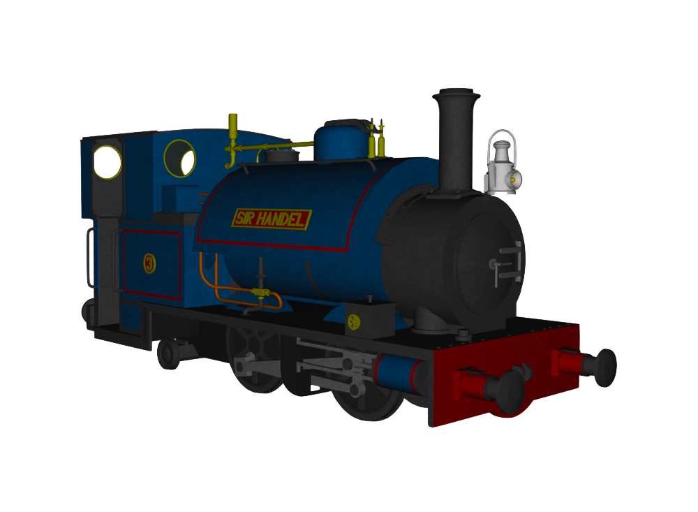 My CGI Sir Handel model by The-ARC-Minister