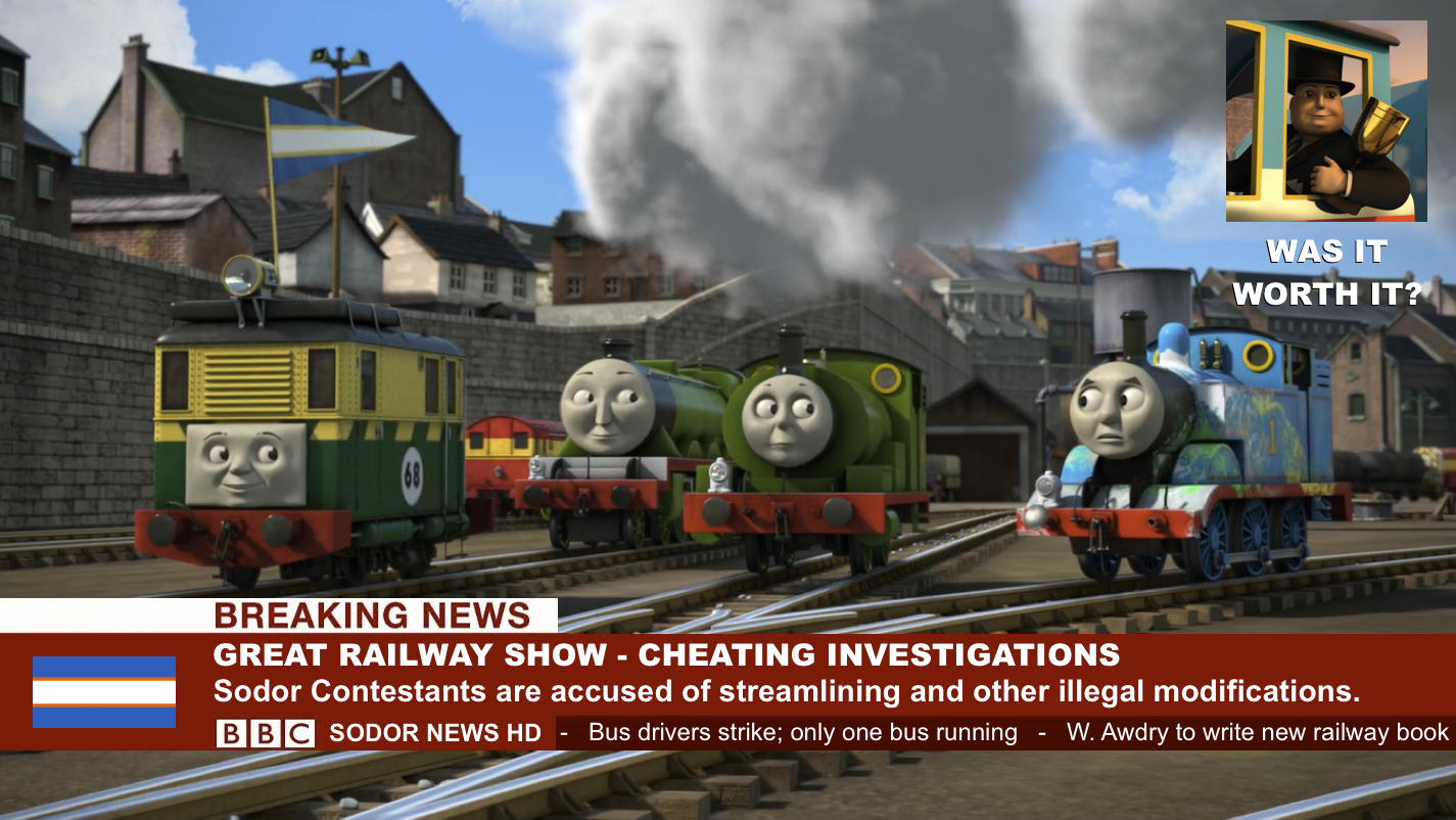 Sodor News - Great Railway Show Cheating Investig. by The-ARC-Minister on DeviantArt