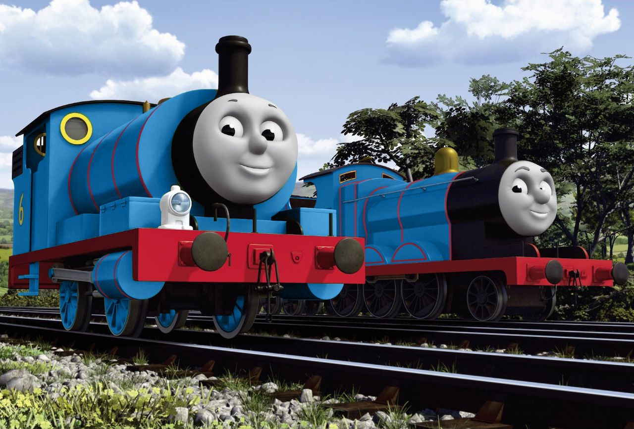 Percy And James In NWR Blue By The ARC Minister