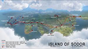 Google Earth - Island of Sodor