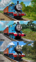 Thomas has come a long way