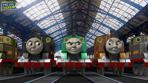The Early Years - All the Best Tank Engines
