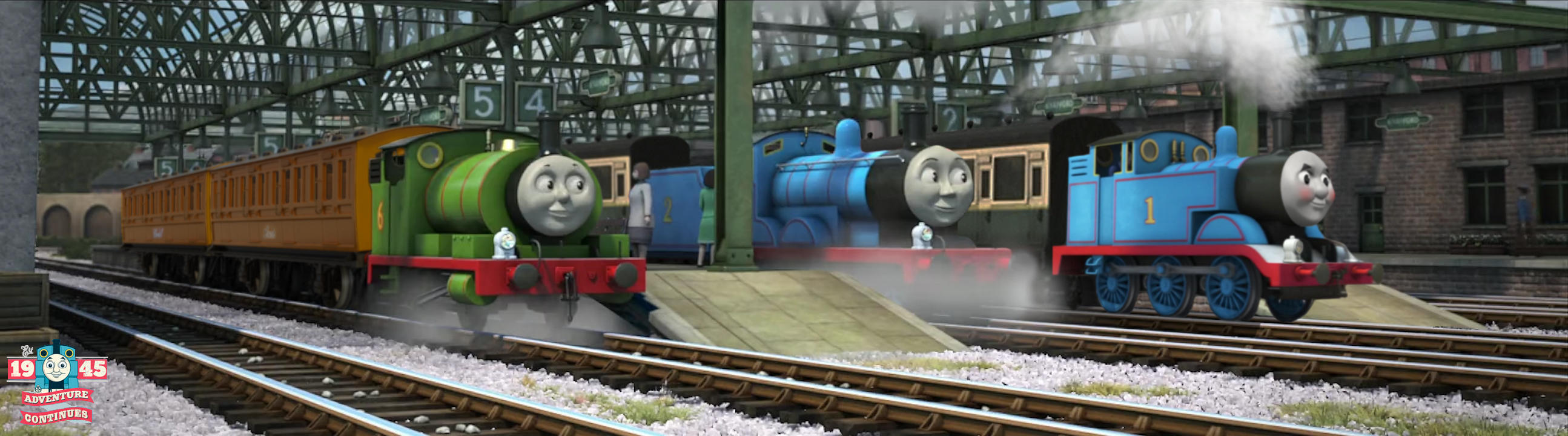 The Adventure Cont. - Edward, Thomas and Percy Too