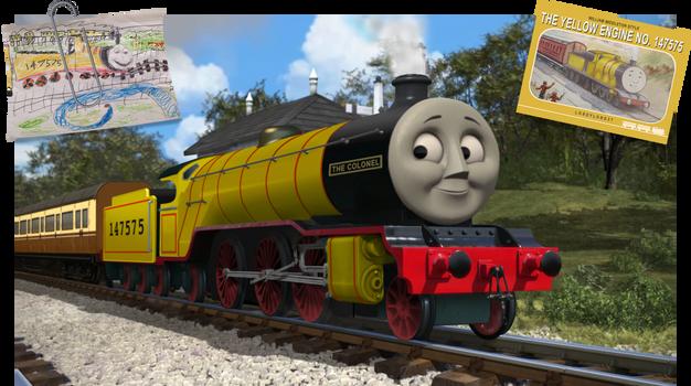 The Yellow Engine No. 147575 - CGI Style