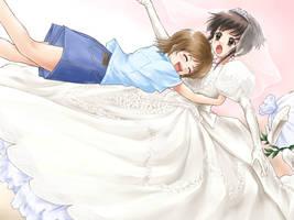 Okashina Futari / Satori's unwelcome greeting