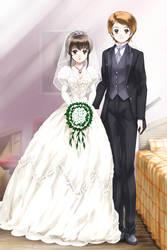 Okashina Futari / Bride and Groom