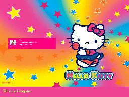 Hello Kitty Logon by CailynDizon