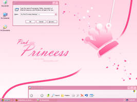 My Pink Princess Desktop by CailynDizon