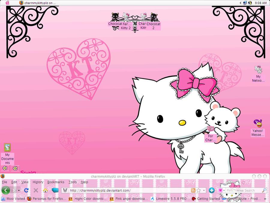 Charmmy Kitty Desktop by CailynDizon