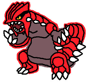 Groudon Pixelart By Toradust On Deviantart